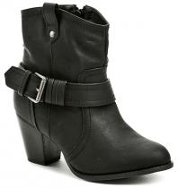 Sprox 015922 černá dámská kotníčková obuv