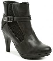 Sprox 010400 černá dámská kotníčková obuv