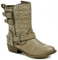 Mustang 1170-503-318 hnědé dámské kotníčkové boty