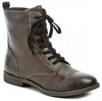 Tamaris 1-25205-27 hnědé kotníčkové boty