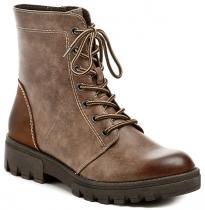 Tamaris 1-25209-27 hnědé kotníčkové boty