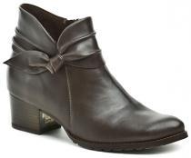 Abil 892 hnědá dámská kotníčková obuv