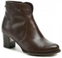 Abil 620 hnědé dámské kotníčkové boty