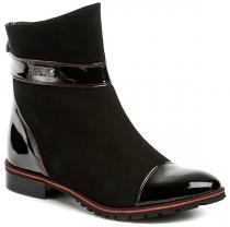 Hilby 1147 černé dámské kotníčkové boty