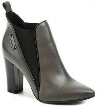 Hilby 1057 šedá dámská kotníčková obuv