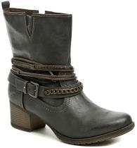 Mustang 1197-504-259 antracit dámské nadměrné boty