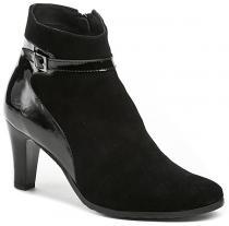 Abil 639 černé dámské kotníčkové boty