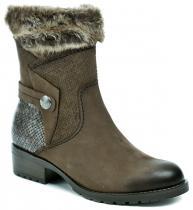 Tamaris 1-25363-27 hnědé dámské kotníčkové boty