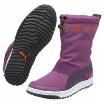 Puma Snow Ankle Boot Wn's sparkling / Fialová