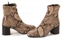 Tamaris kotníčková obuv béžová