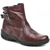 Bata Kotníkové boty B1465z52 bordó Červená - dámské