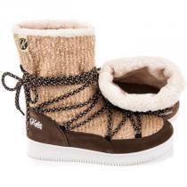 Kylie Pohodlné sněhule Hnědá - dámské