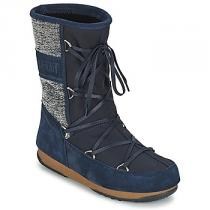 Moon Boot VIENNA MIX Modrá - dámské