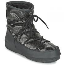 Moon Boot WE LOW GLITTER Černá - dámské