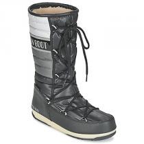 Moon Boot WE QUILTED Černá - dámské