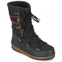 Moon Boot WE VIENNA FELT Černá - dámské
