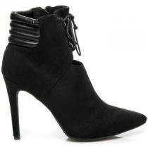 Betler Elegantní boty na jehlovém podpatku Černá - dámské