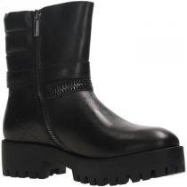 Armani Jeans 9250326A415 Ankle Boot Women Leather Černá - dámské