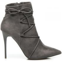 Betler kotníkové boty Stříbrná - dámské