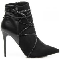 Betler kotníkové boty Černá - dámské