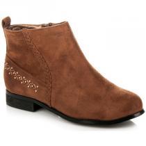 Bestelle Klasické kotníkové boty Hnědá - dámské