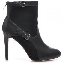 Belle Women Špičaté boty Černá - dámské