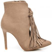 Comer Módní boty s třásněmi Hnědá - dámské