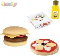 Smoby Fast food pizza nebo hamburger 2 druhy