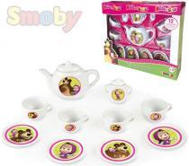 Smoby Dětský kávový a čajový servis Máša