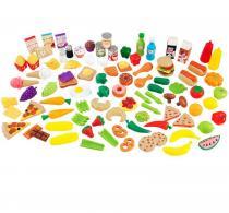 Kidkraft Hrací set potravin 115 doplňků
