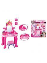 BAYO Dětský toaletní stolek s pianem a židličkou