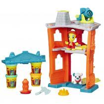 Hasbro Play-Doh town požární stanice