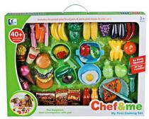 G21 Dětské plastové jídlo s nádobím