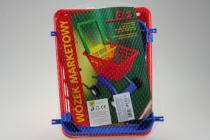Multitoys Nákupní košíček plastový