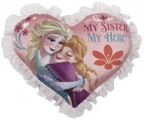 Multitoys Polštářek srdce Anna a Elsa
