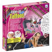 Multitoys Tetovací sada pro dívky