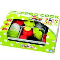 Multitoys Dětské kuchyňské nádobí s odkapávačem