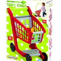 Multitoys Nákupní vozík s ovocem a zeleninou