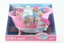Zapf Interaktivní vana pro Baby Born s funkcí pěnou