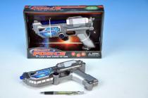 Teddies Pistole laserová 22cm