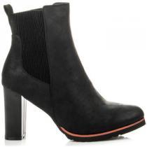 Vices Podzimní obuv s gumovou vsadkou Černá - dámské