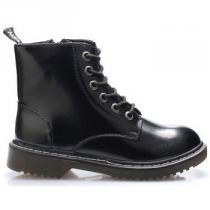 Break And Walk Černé kotníkové šněrovací boty - dámské