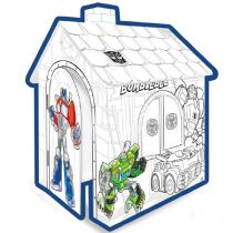 Hasbro Domeček k vybarvení transformers