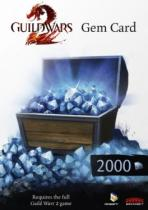 Guild Wars 2 2000 Gem Card (PC)