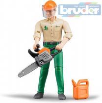 Bruder Lesní dělník figurka