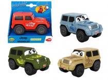 DICKIE Happy Jeep Wrangler Squeezy 11 cm