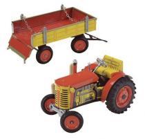 Multitoys Plechový traktor s řazením