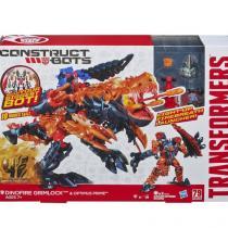 Hasbro Mega transformers dinobot grimlock construct bots