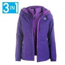 Karrimor 3in1 Jacket Purple