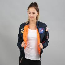 Alpha Industries MA - 1 VF NASA navy